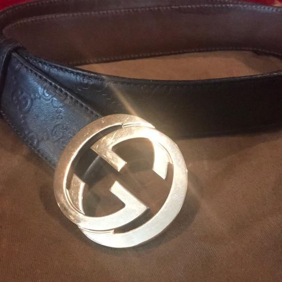 60f263082b9 Gucci Accessories - Authentic Gucci men Belt